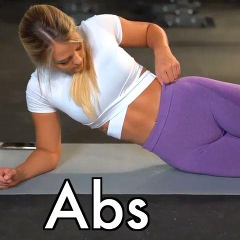 Easy abs exercise  #fitnessexercisesathome