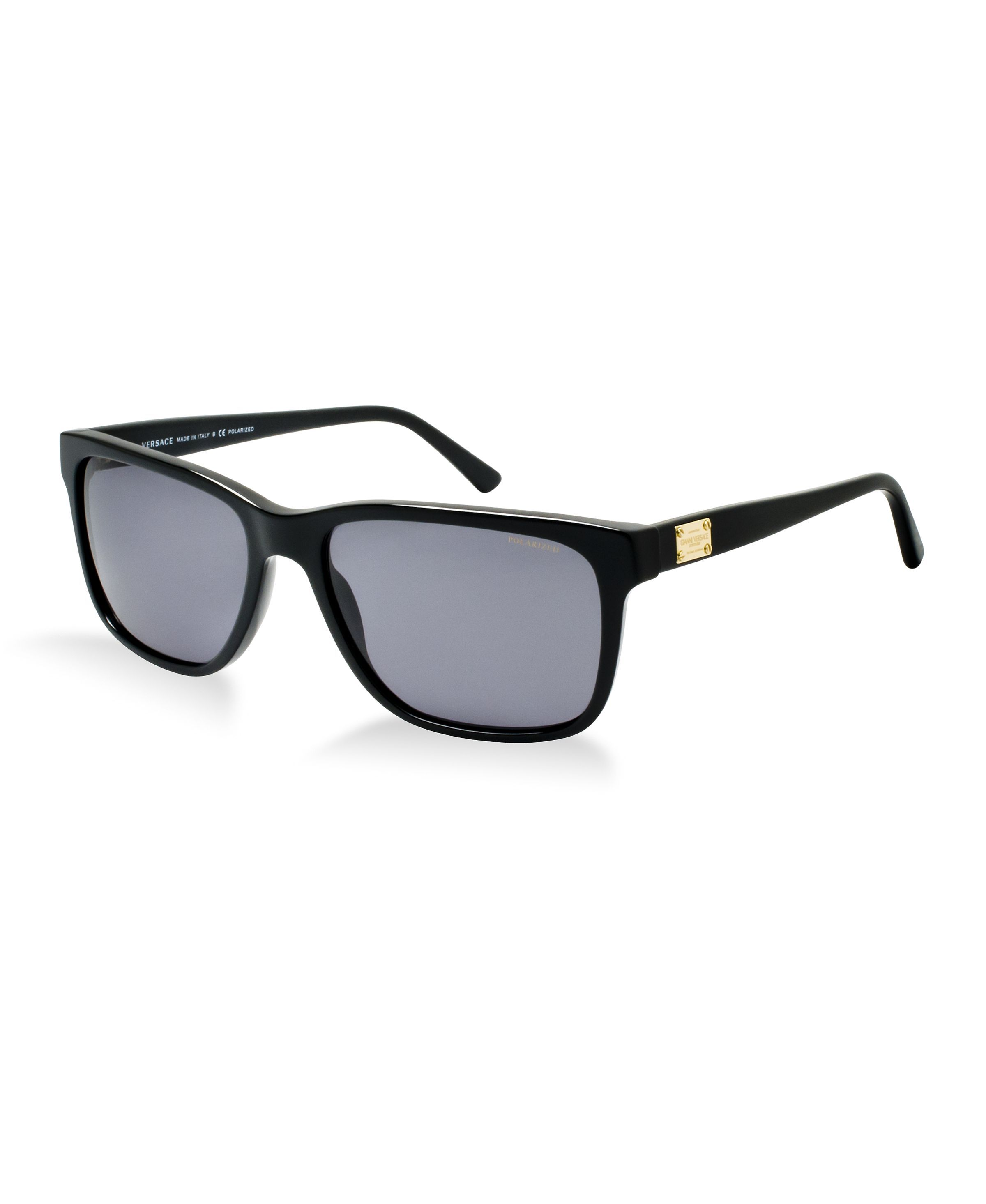 2883f5bdfa1 ... Sunglasses by Sunglass Hut - Macy s. This square design features the  timeless Couture theme