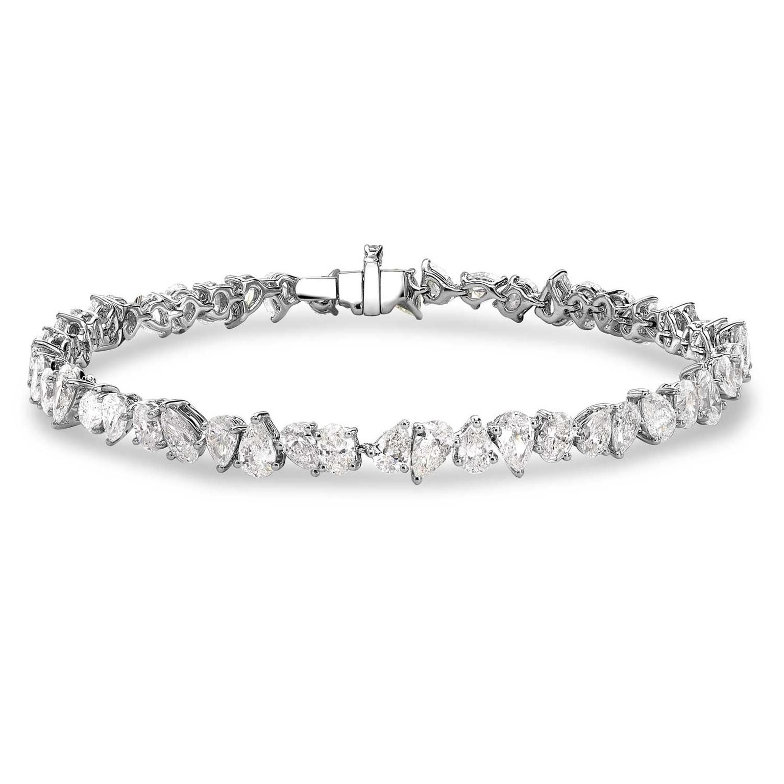 coloured hgk bracelet s marquise diamond christies david online and christie jewels morris