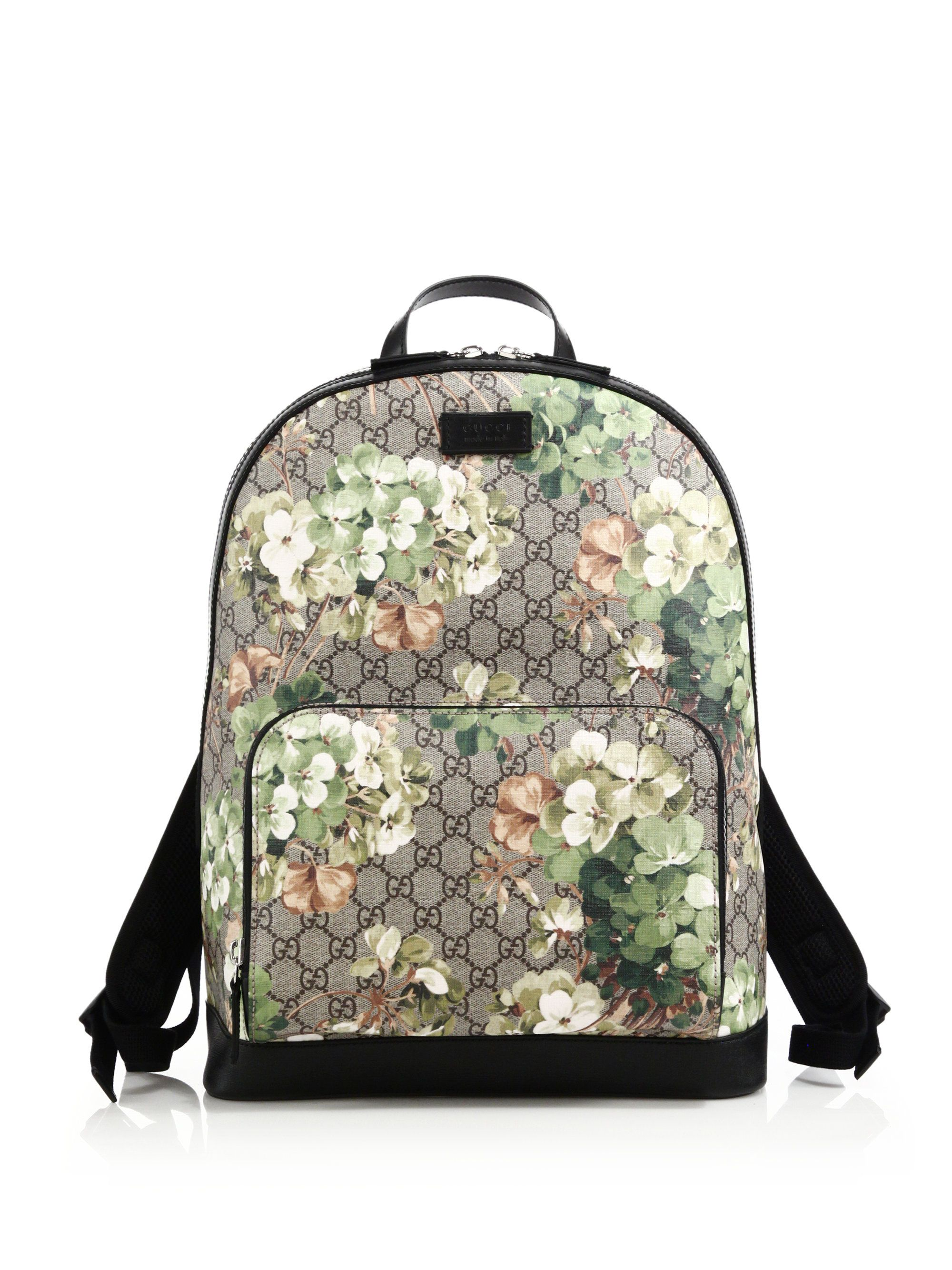 1bc4f2fdbdd Gucci GG Bloom Supreme Canvas Backpack--- is this a good idea or nah  I  just want a nice waterproof designer backpack