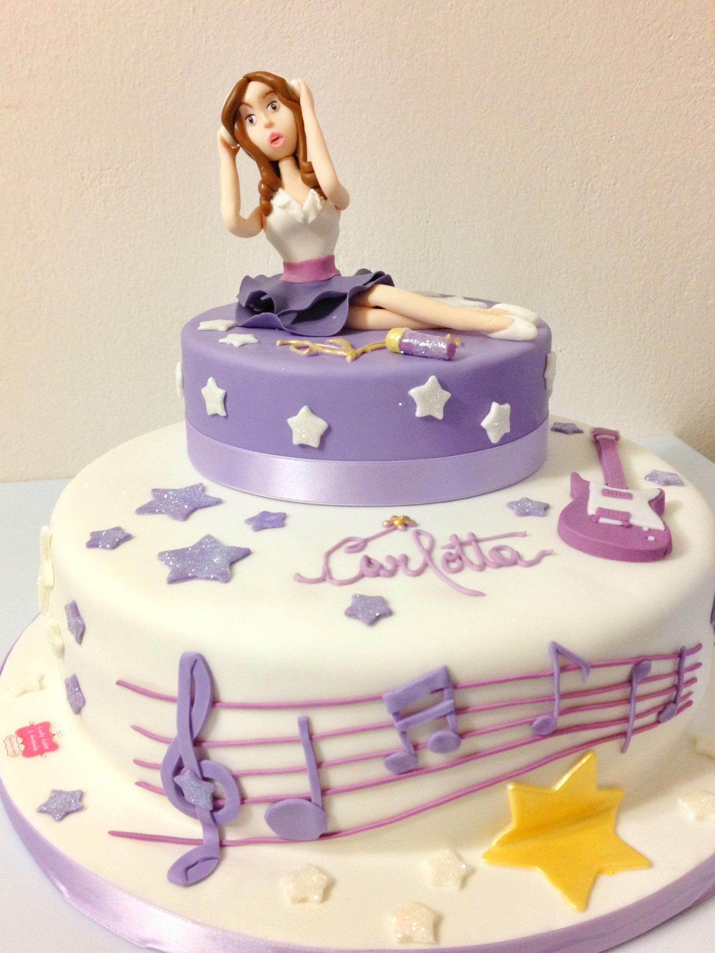 Cake Design Violetta : Violetta  cake Lady Cake design style Pinterest Cakes