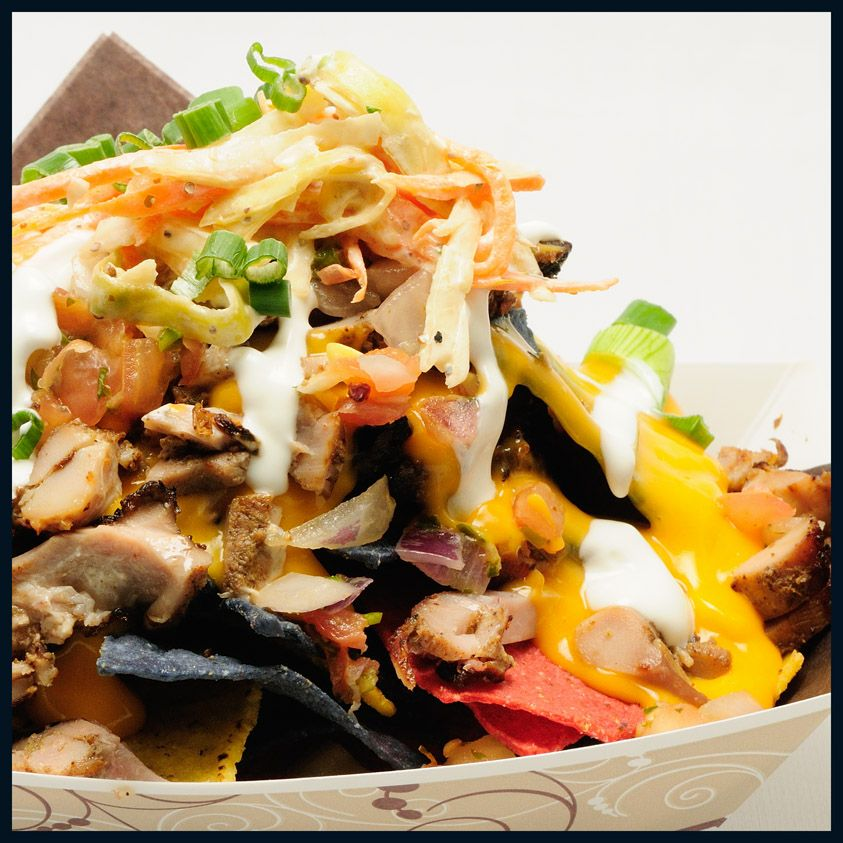 Jerk Chicken Nachos From Rogers Centre Home Of The Toronto Blue