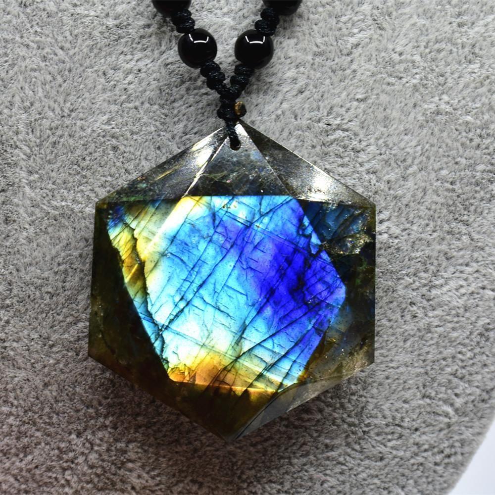 Visit to buy natural moonstone sunstone labradorite pendant
