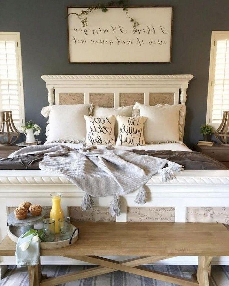 25 Stunning Transitional Bedroom Design Ideas: 50 Beautiful Rustic Master Bedroom Ideas
