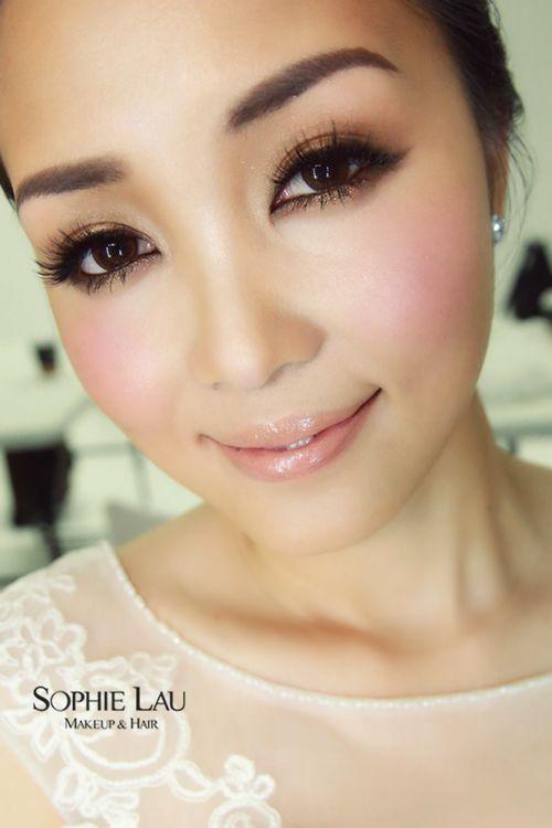 bridal makeup looks for chinese saubhaya makeup