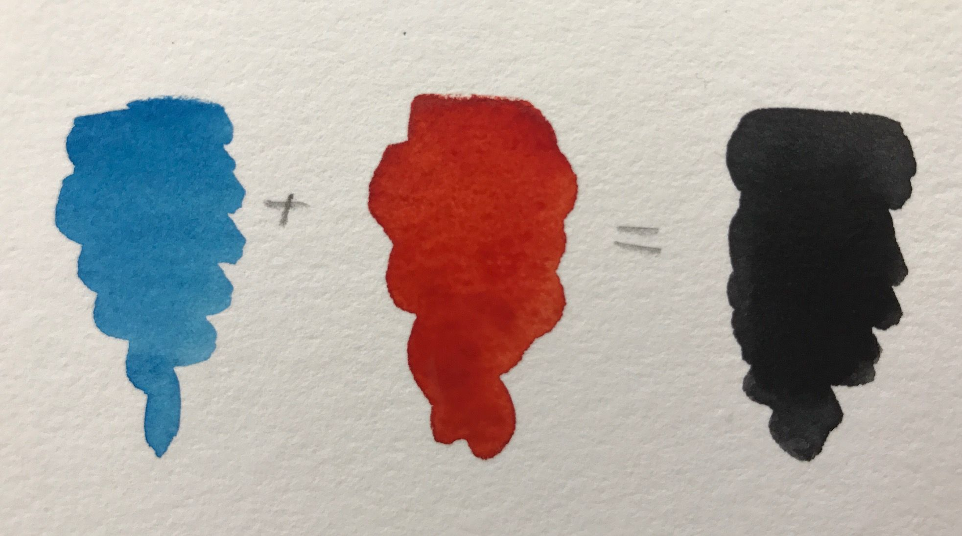 4 Simple Mixing Formulas For Luminous Watercolor Blacks Red