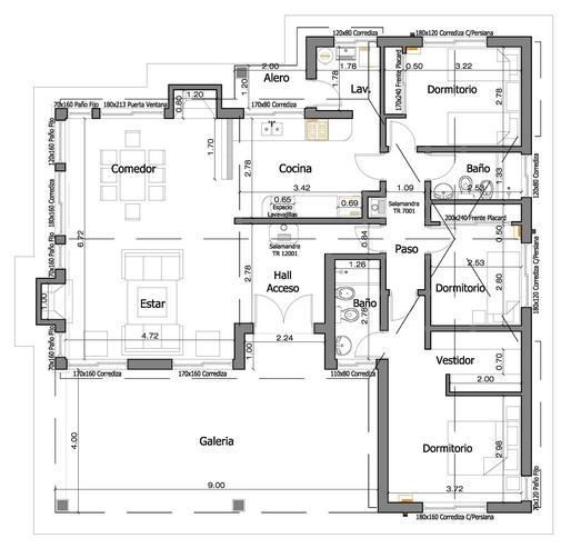 Planos de casa estilo anvers de 165 metros cuadrados tmp for Planos de casas modernas mexicanas