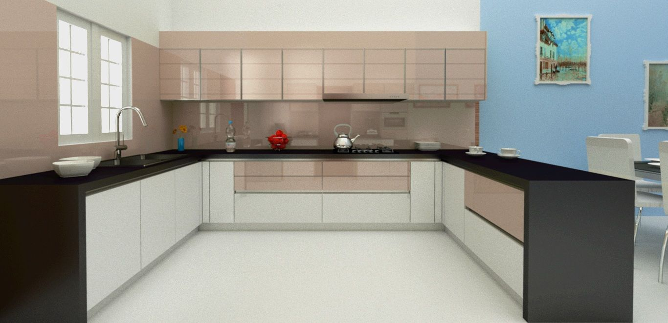 Krios Kitchens Offers Different Types Of Marvelous U Shaped Brilliant Modular Kitchen U Shaped Design Decorating Inspiration
