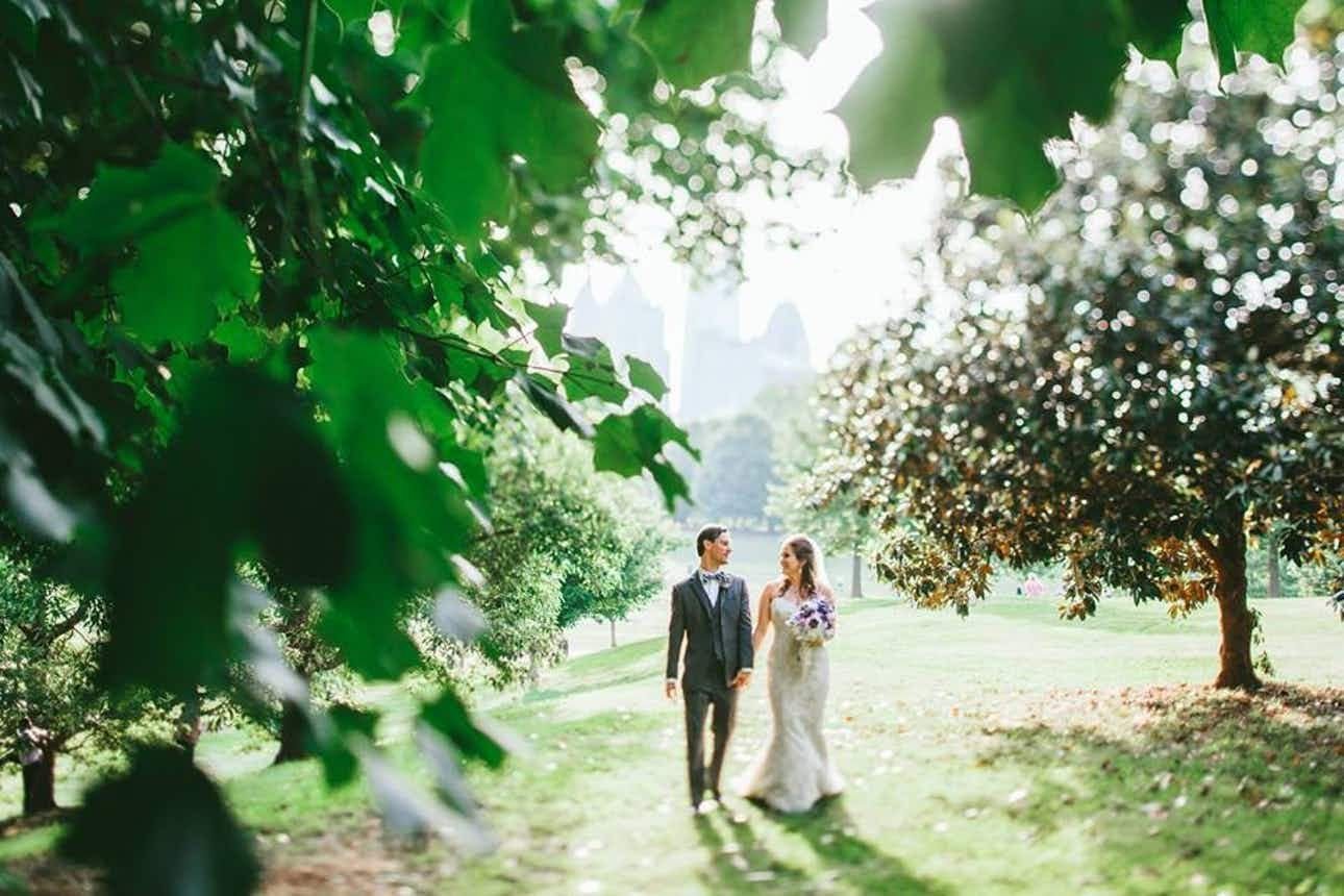 The Piedmont Room and Piedmont Garden Tent Atlanta Wedding