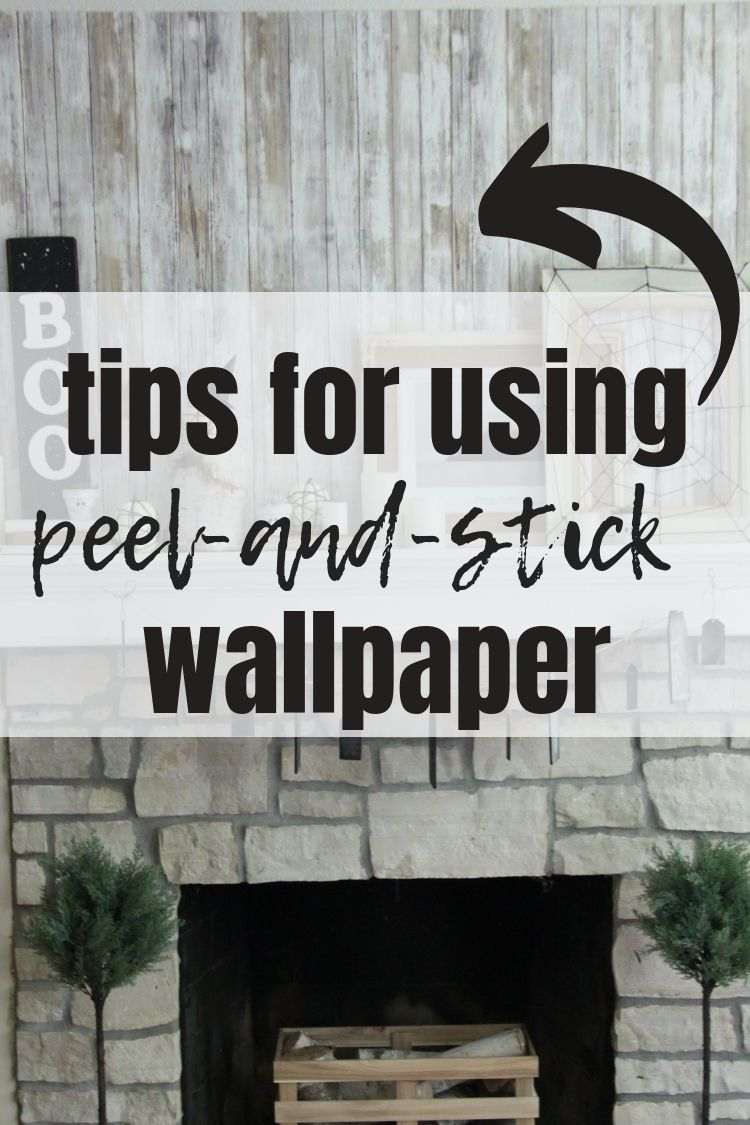 Tips For Using Peel And Stick Wallpaper Watch This Video Tutorial To Learn My Tips And Tricks For Hanging Removab Temporary Wallpaper Wallpaper Ship Lap Walls