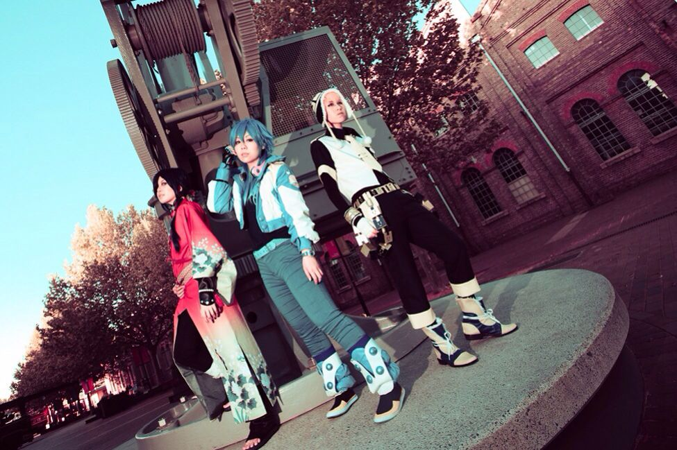Dmmd - cosplay noiz, koujaku and Aoba