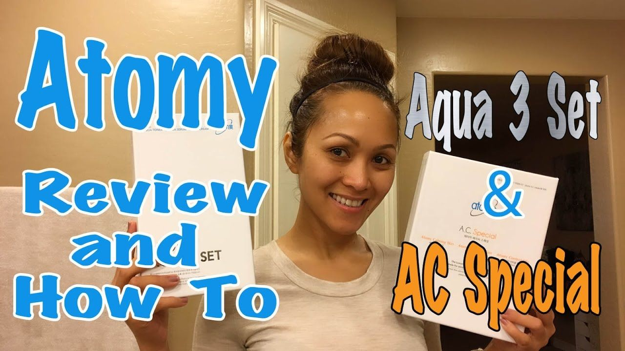 Current Skin Routine Atomy Aqua 3 Set Ac Special Review And