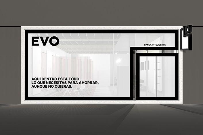 Evo – back to basics by Saffron Brand Consultants #grafica #corporate #negozio