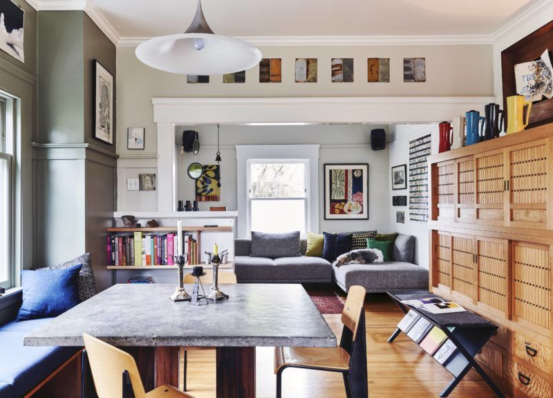 Less Is More How A Berkeley Couple Turned Their Tiny Home Into A Creative Haven Sunset Magazine Home Small House Design Furniture Design
