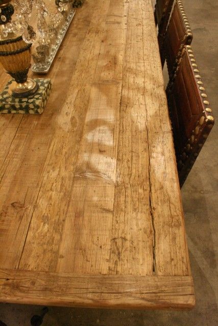 Country Trader Aged Pine dining table H780 L2500 D1000