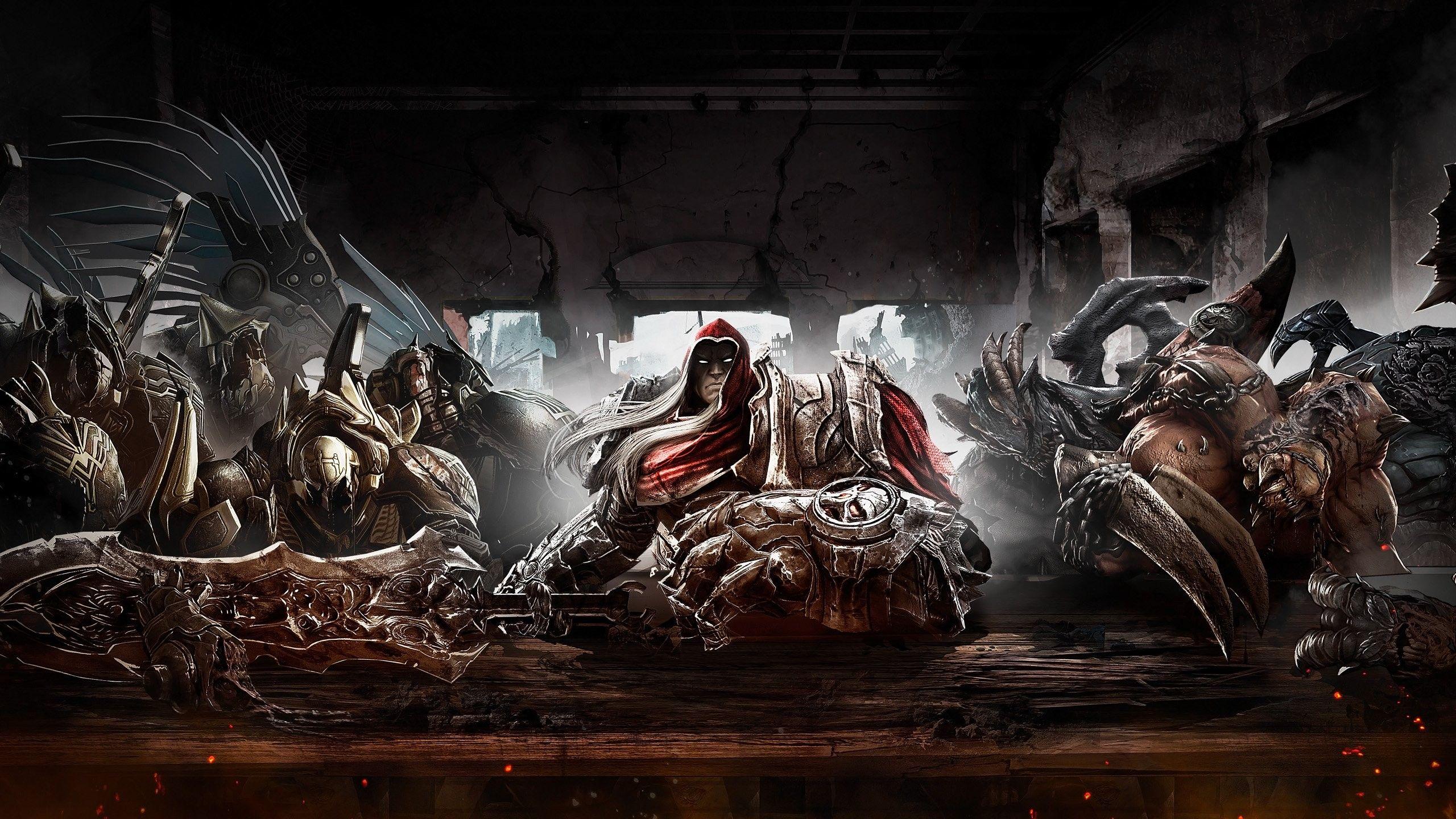 Darksiders War S Last Supper Gaming Wallpapers Hd Gaming Wallpapers Horsemen Of The Apocalypse