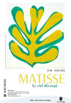 Exposition Matisse, le ciel découpé à Nice