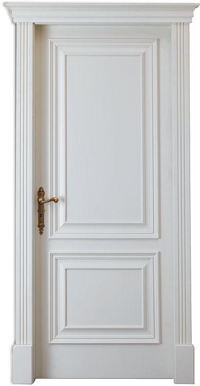 Fresh White Painted Interior Doors