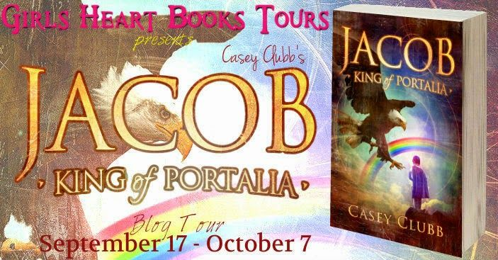 Kelly P's Blog: Blog Tour {Excerpt & Giveaway} Jacob, King of Portalia by Casey Clubb