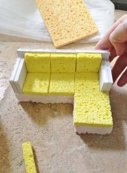 Best Kids Furniture Diy Couch Doll Houses Ideas #dollhouse