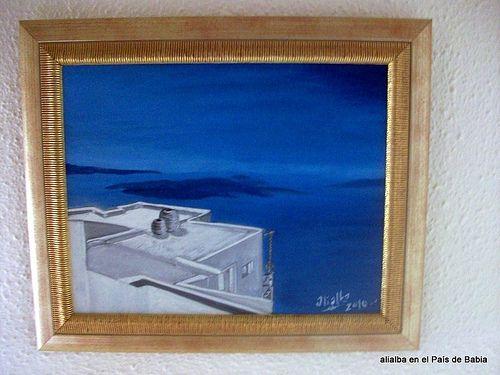 Vista desde Santorini