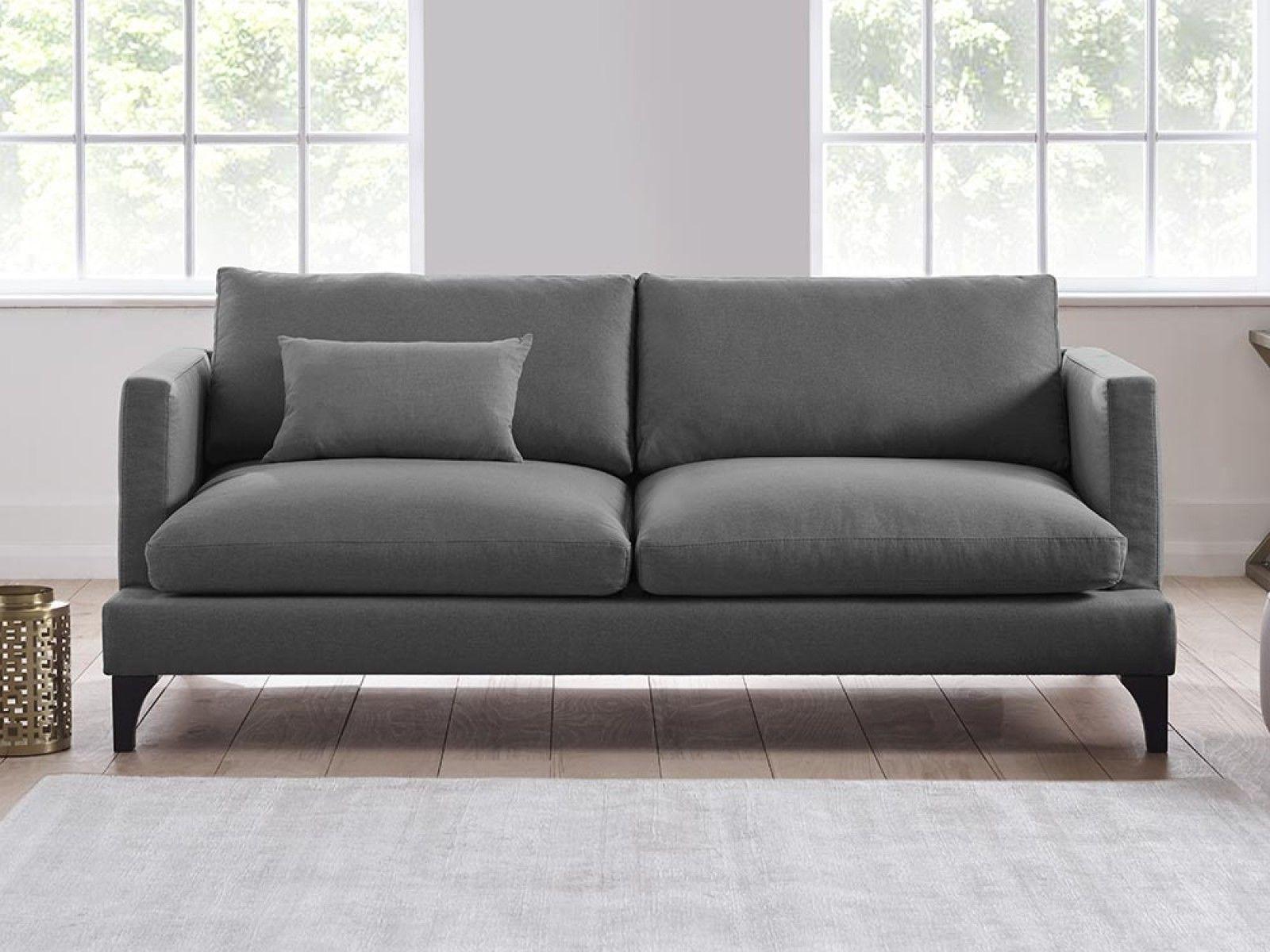 Izzy sofa in squirrel cotton velvet Sofa 1600 Sofas