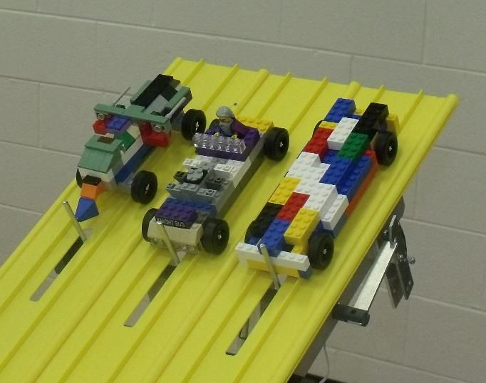 Wheel Kits For Lego Cars To Fit On Pinewood Derby Track  Cool Variation For  A