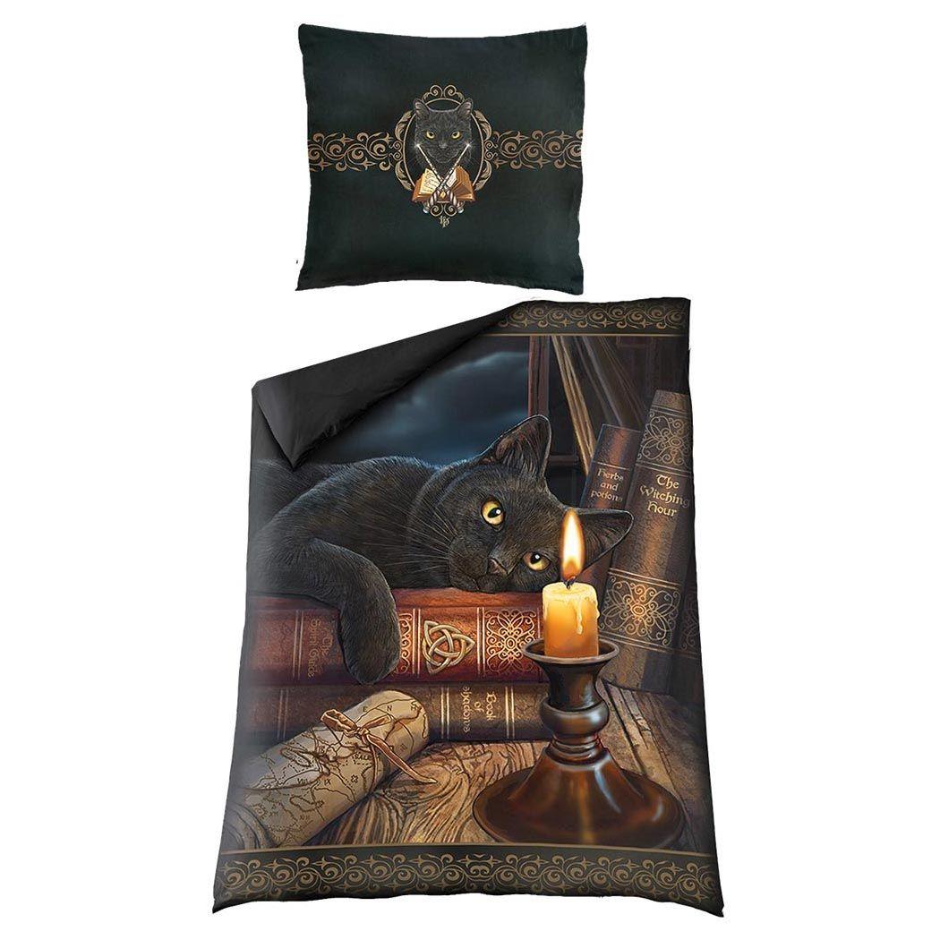 Schwarze Katze Fantasy Bettwasche The Witching Hour Bettwasche