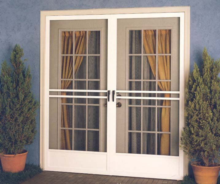 I really like these french doors i 39 m going to replace my for Exterior door with screen built in