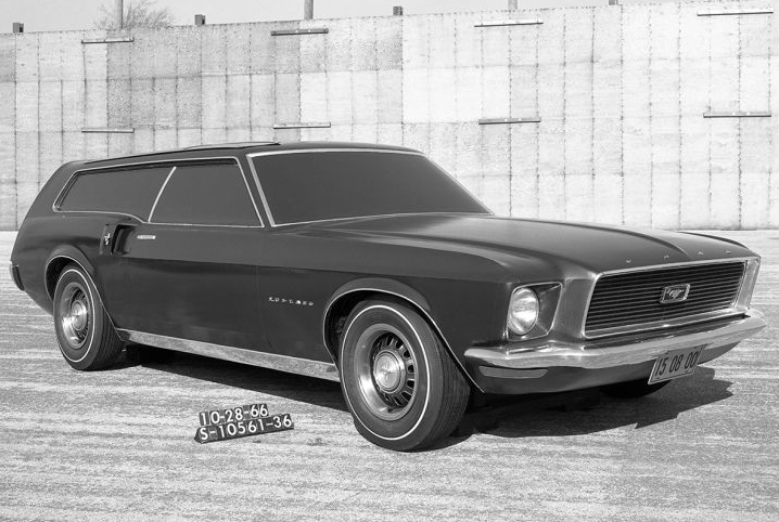 Ford Mustang Station Wagon 1966 Prototype