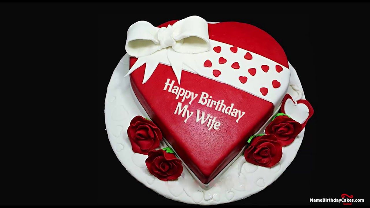Happy Birthday Wife Best Wishes For You Name Birthday Cakes For