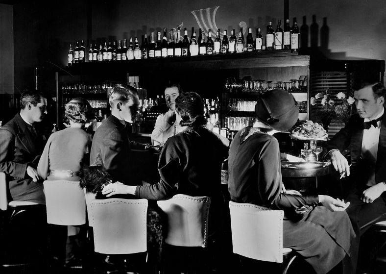 """Prohibition passed on Jan. 16, 1919, went into effect one year later, and ended in 1933. These photos of New York City speakeasies were published in 1933, """"for a future that will want to know how New Yorkers of the '20s lived.""""  See more: http://ti.me/1Im4plY  (Margaret Bourke-White—The LIFE Picture Collection/Getty Images)"""
