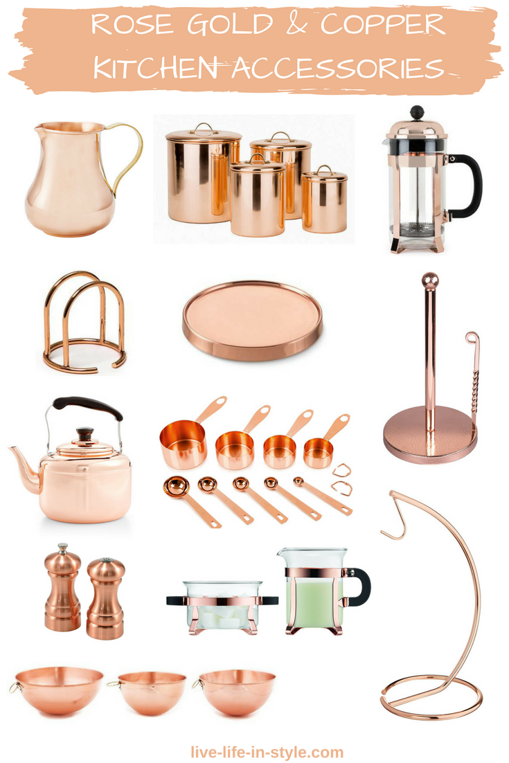copper taste solutions kitchen of best inspirational accessories items