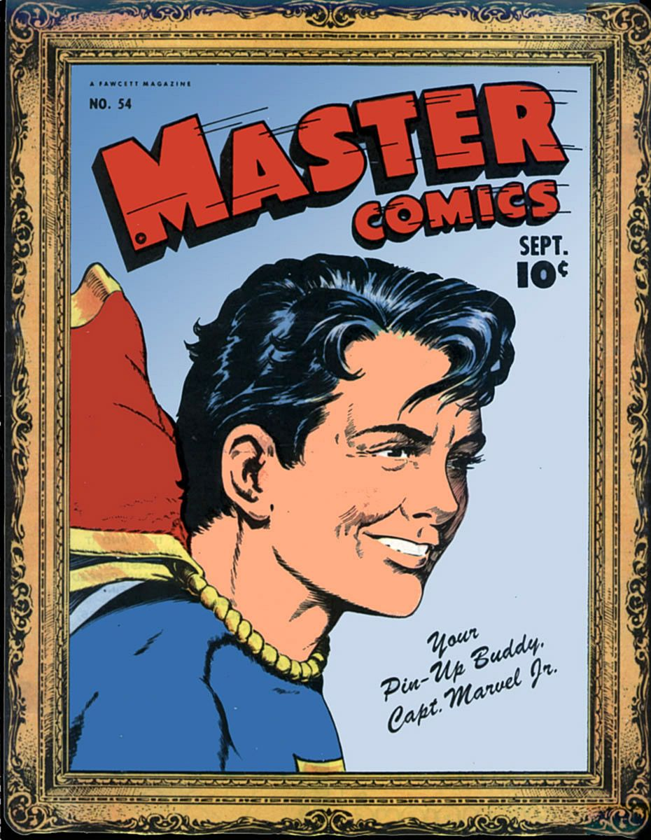 Captain Marvel Jr 54 Cover Dc Comics Pinterest Captain