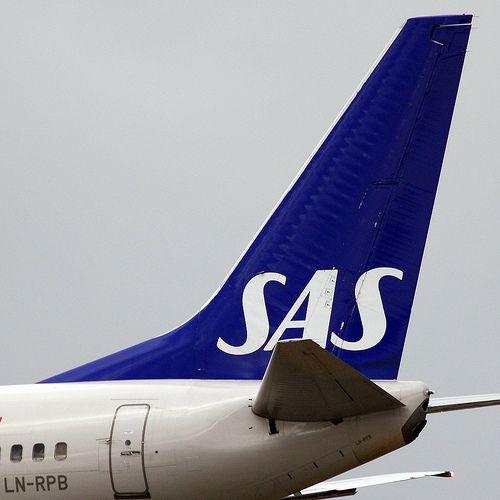 Scandinavian Airlines Sas Boeing 737 683 Ln Rpb Bure Viking 2294 Sas Airlines Airline Logo