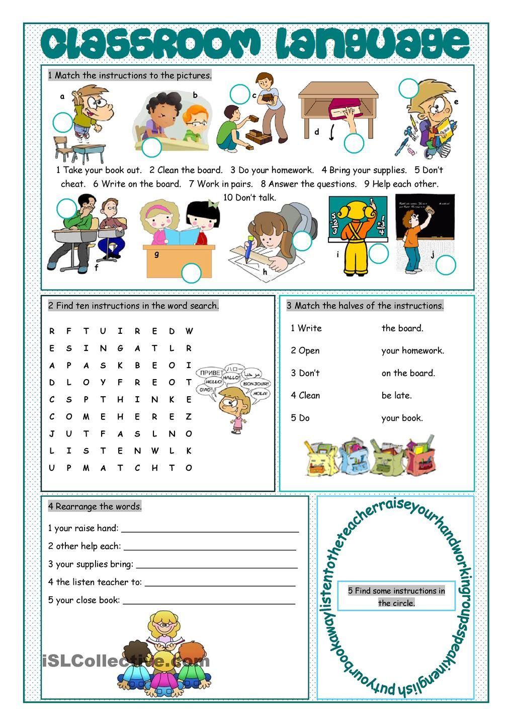 classroom language vocabulary exercises teaching ideas pinterest vocabulary exercises. Black Bedroom Furniture Sets. Home Design Ideas