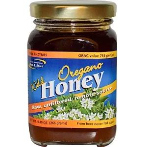 North American Herb Spice Raw Wild Oregano Honey 10 Oz 283 G Herbs Spices Oregano Vitamins For Kids