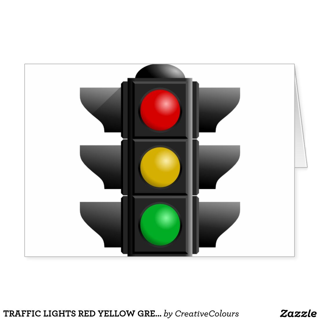 Traffic Lights Red Yellow Green Signs Direction Zazzle Com