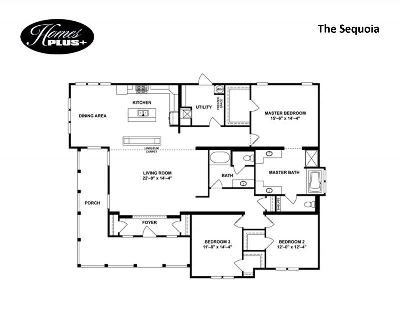 Southern Energy The Sequoia Modular 164 999 Homesplus Porch And Foyer Clayton Homes Sequoia