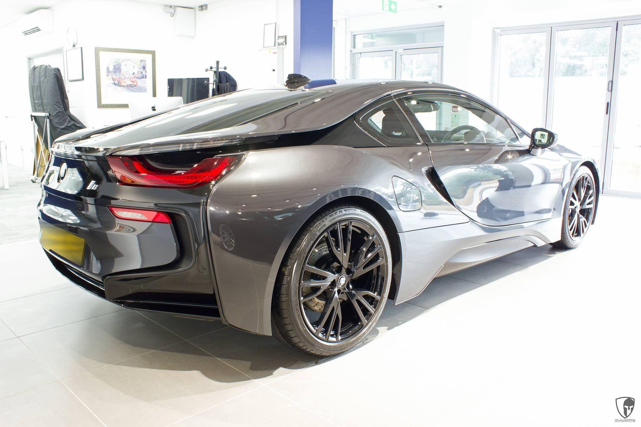 BMW i8 Coupe eDrive MulgariAutomotive Electric Burn Blue