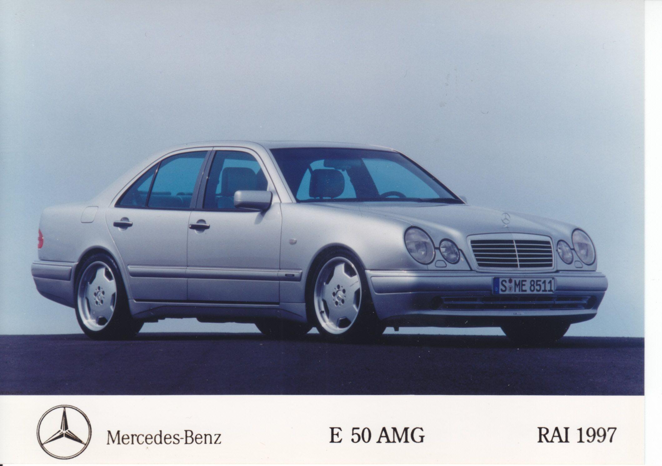Mercedes Benz E 50 AMG Dutch RAI 1997 Cars