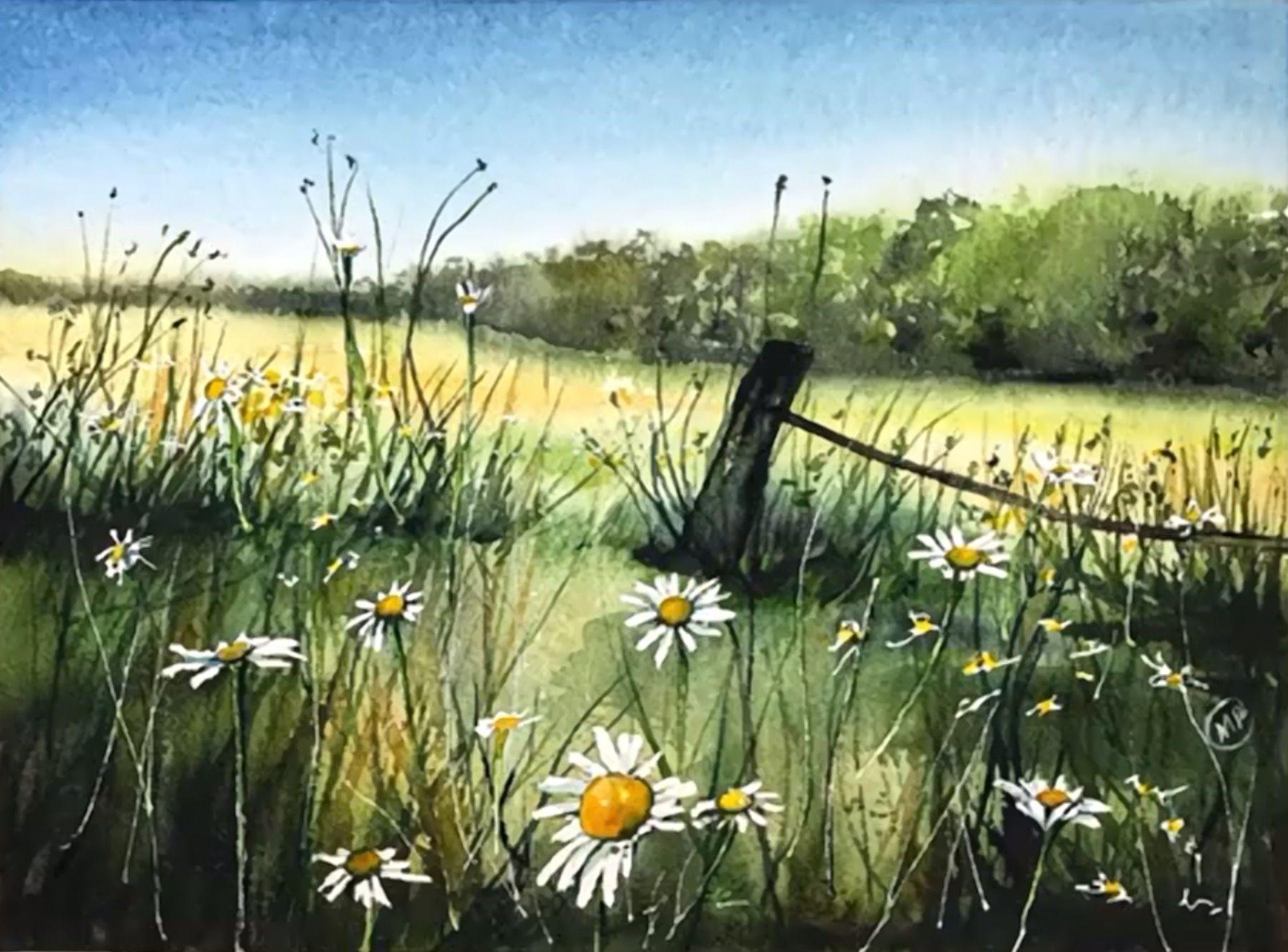 Maria Raczynska Watercolor Painting Painting