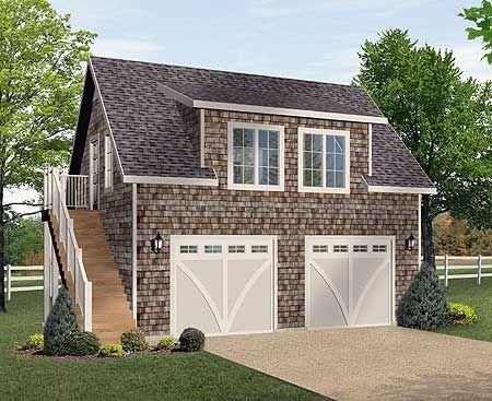 Plan SL Shingle style Garage Apartment in 2019