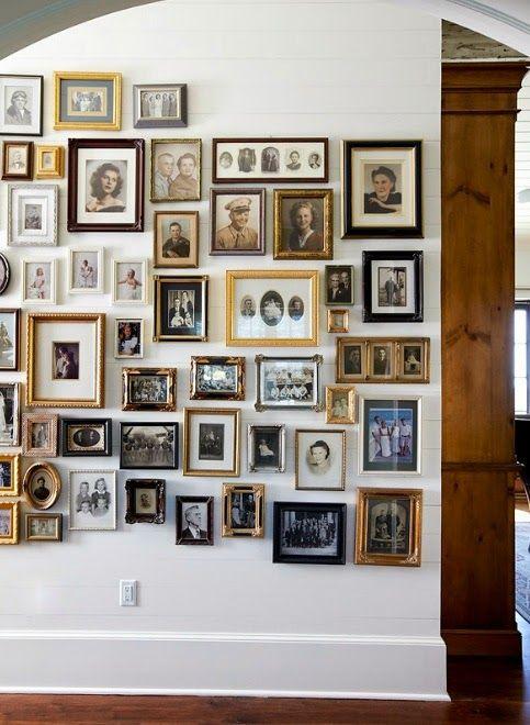 Family History Ancestry Photo Wall Family Photo Wall Display