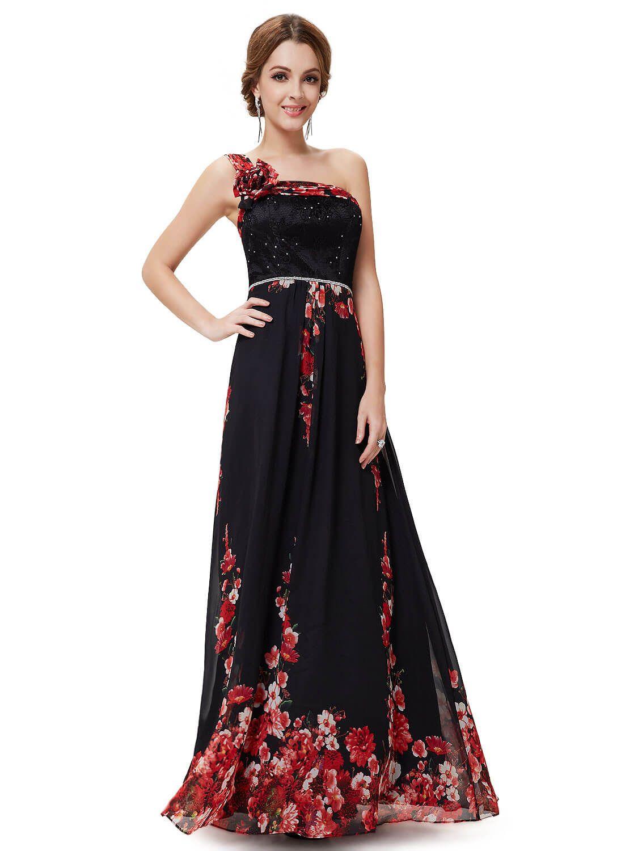 b225de33649 Черные платья с красными цветами от 2199 руб