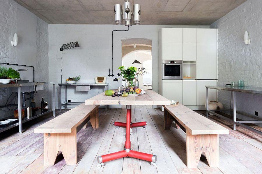Breezy Makeover Berlin Apartment Restored with Mediterranean