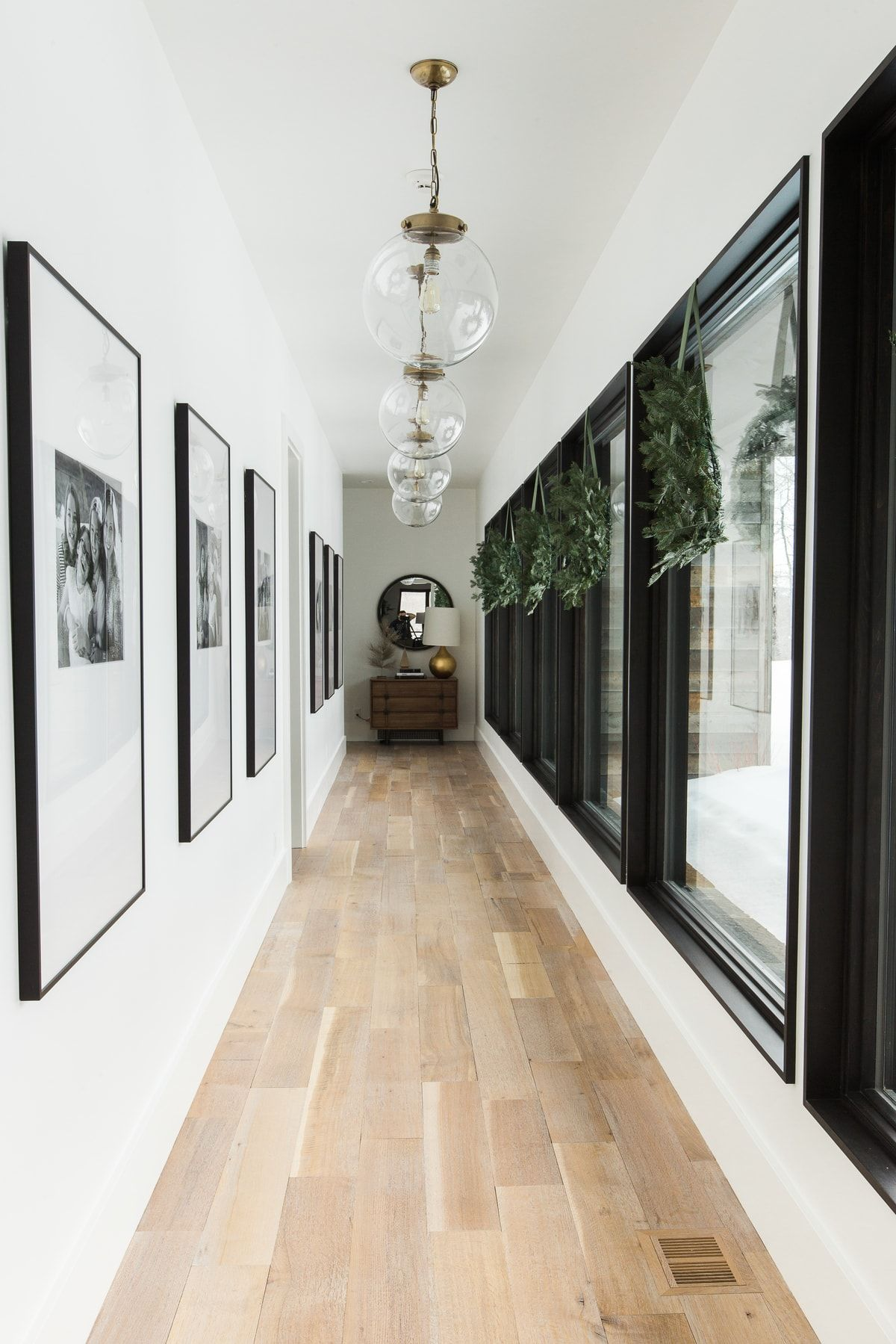 A Very Mountain Home Christmas Hallway Pinterest
