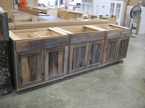 Barnwood Kitchen Cabinets Benedict Antique Lumber And Stone Reclaimed Wood Kitchen Kitchen Cabinets For Sale Rustic Kitchen