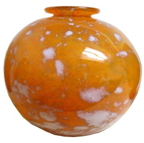 Charles Schneider French Art Deco Glass Vase | Modernism