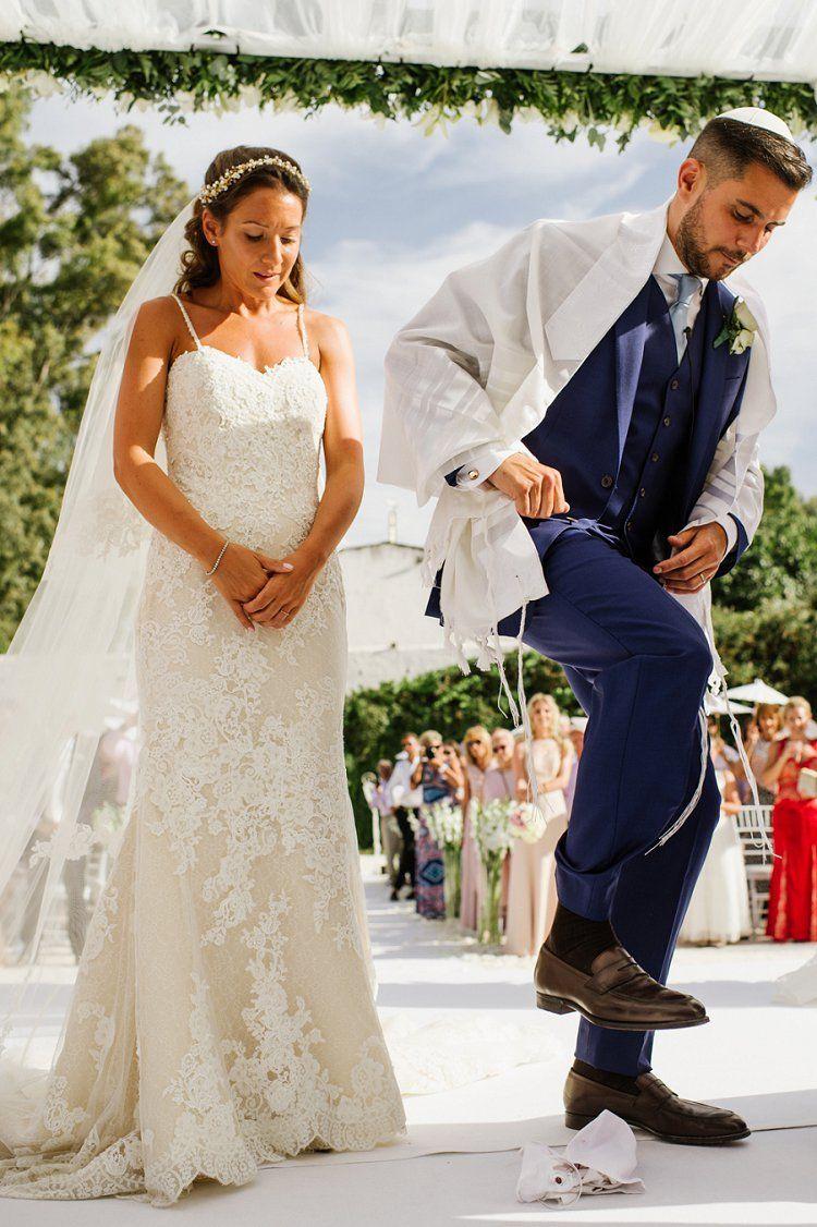 A Pronovias Bride for a Party-Vibe Destination Jewish Wedding with ...